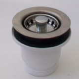 Mini 70mm Flange Kitchen Sink Basket Strainer Waste - 74000126